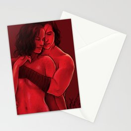 Red Dreams Stationery Cards