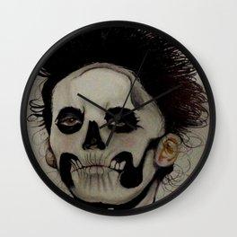 Las Muertas Wall Clock