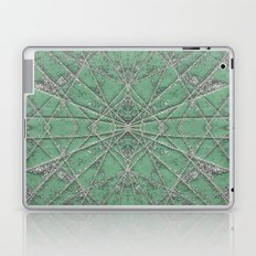 Snowflake Mint Laptop & iPad Skin