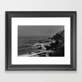 Rocky Coast of Ireland Framed Art Print