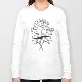 hopeful pessimist Long Sleeve T-shirt