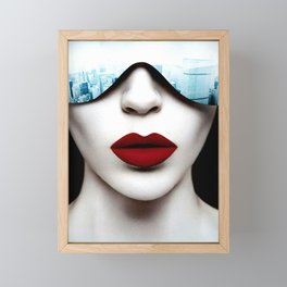 Fashion City Framed Mini Art Print
