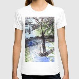Night tree T-shirt