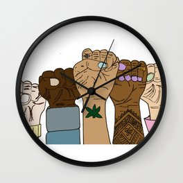 The Same for Everyone Wall Clock