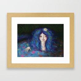 Women in Water Framed Art Print
