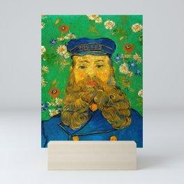 "Vincent van Gogh ""Portrait of Joseph Roulin"" Mini Art Print"