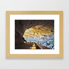 Grotte du Mas d'Azil Framed Art Print