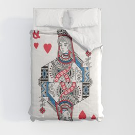 Queen of hearts Comforters