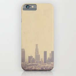Los Angeles Skyline Photo. Southland iPhone Case