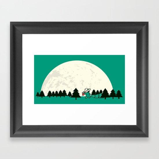 Christmas fell on Wednesday that year Framed Art Print