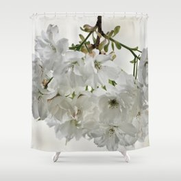 SPRING BLOSSOMS - IN WHITE - IN MEMORY OF MACKENZIE Shower Curtain