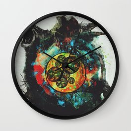 Circle of Life Surreal Study Wall Clock