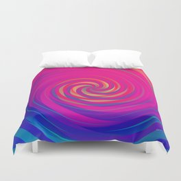 Bermuda Swirl Duvet Cover