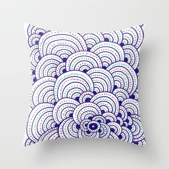 Dot Cluster Throw Pillow