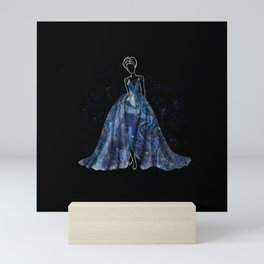 Evening Gown Fashion Illustration #4 Mini Art Print