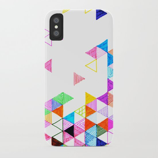Falling Into Place iPhone Case