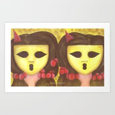 The Ghostesses Of Caprice Art Print #2 Art Print