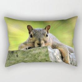 Relaxed Squirrel Rectangular Pillow