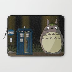 Allons-y Totoro alternate Laptop Sleeve