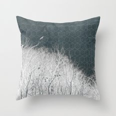 all-night dream Throw Pillow