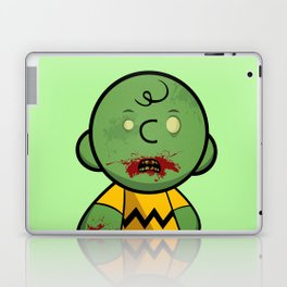 Zombie Charlie Brown Laptop & iPad Skin