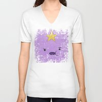 lumpy space princess V-neck T-shirts featuring Lumpy Space Princess by Some_Designs