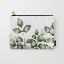 Verdant foliage Carry-All Pouch