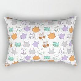 Kolor Kats Rectangular Pillow