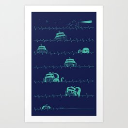 Sea of the Death Art Print