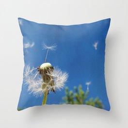 free dance Throw Pillow