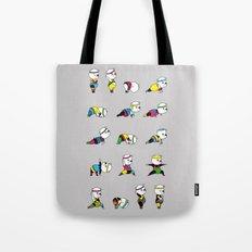 Yoga Bear - 80's Remix Tote Bag