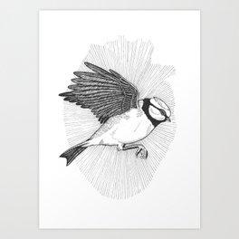 Bluebird In My Heart Art Print