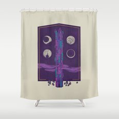 'Neath the Tower of Incomprehensible Sorcery Shower Curtain