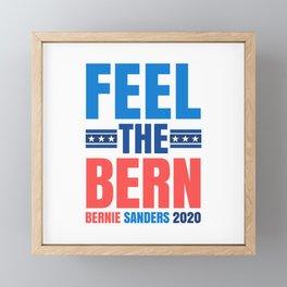FEEL THE BERN BERNIE SANDERS 2020 Framed Mini Art Print