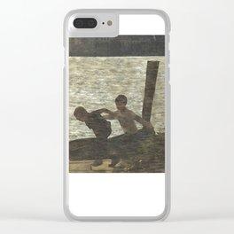 Lago d'Orta Clear iPhone Case