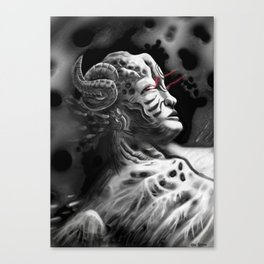 Regenerating Tyrant Canvas Print