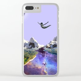 Falling in love Clear iPhone Case