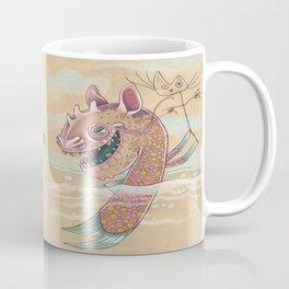 SWIMMING WITH PUPPETS Coffee Mug
