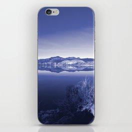 Surreal Landscape - Pahranagat NWR, Nevada iPhone Skin