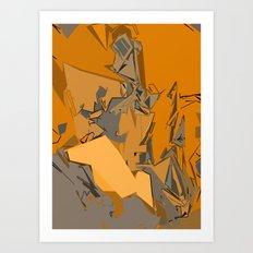 Sandstone Art Print