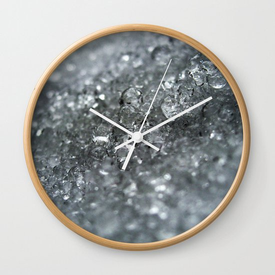 Ice Forever Wall Clock
