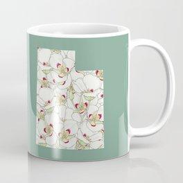 Utah in Flowers Coffee Mug
