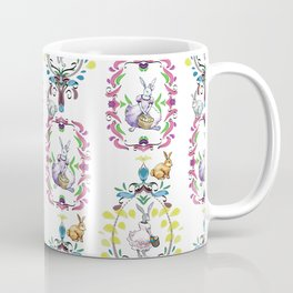 Dressed Easter bunnies 1 Coffee Mug