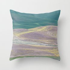 Palouse Abstract I Throw Pillow