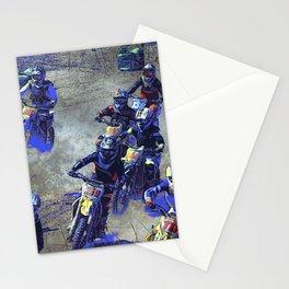 Lets Race!  - Motocross Racers Stationery Cards