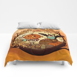 Fall Folklore Comforters