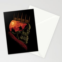King Nothing Stationery Cards