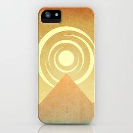 Sunrise In The Sand iPhone Case