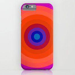 Lighter Bullseye iPhone Case