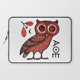 Athena's Owl Laptop Sleeve